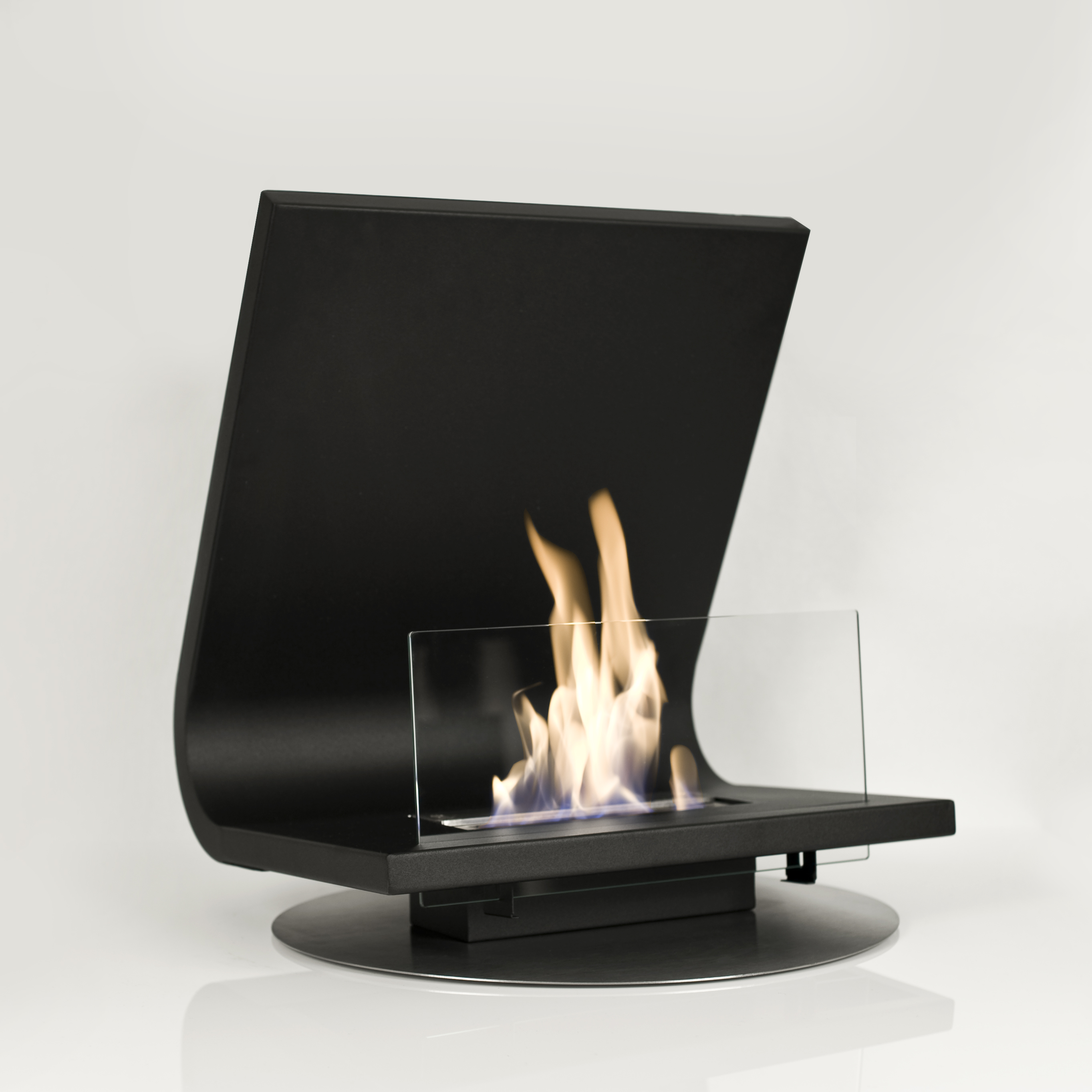 mounted from b fire front fl ventless ethanol en architonic fireplace wall ecosmart by product fires firebox