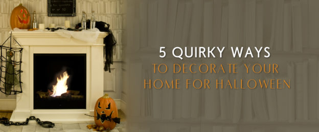 5 quirky ways to decorate your home for halloween bio for Ways to decorate your house for halloween