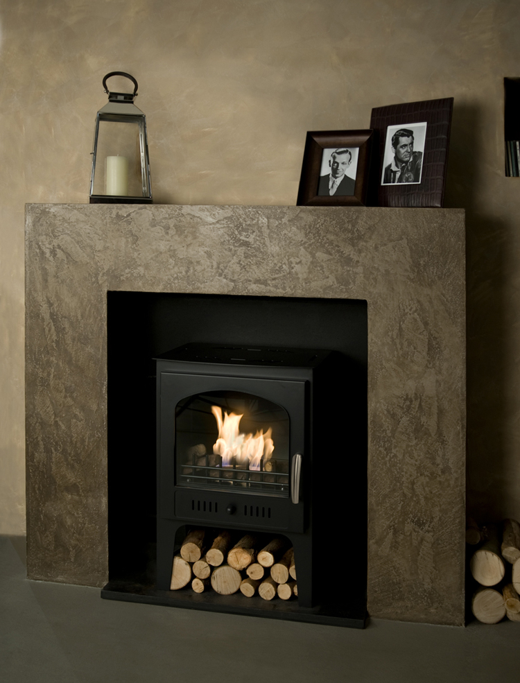 how to start a fire in a wood burning fireplace