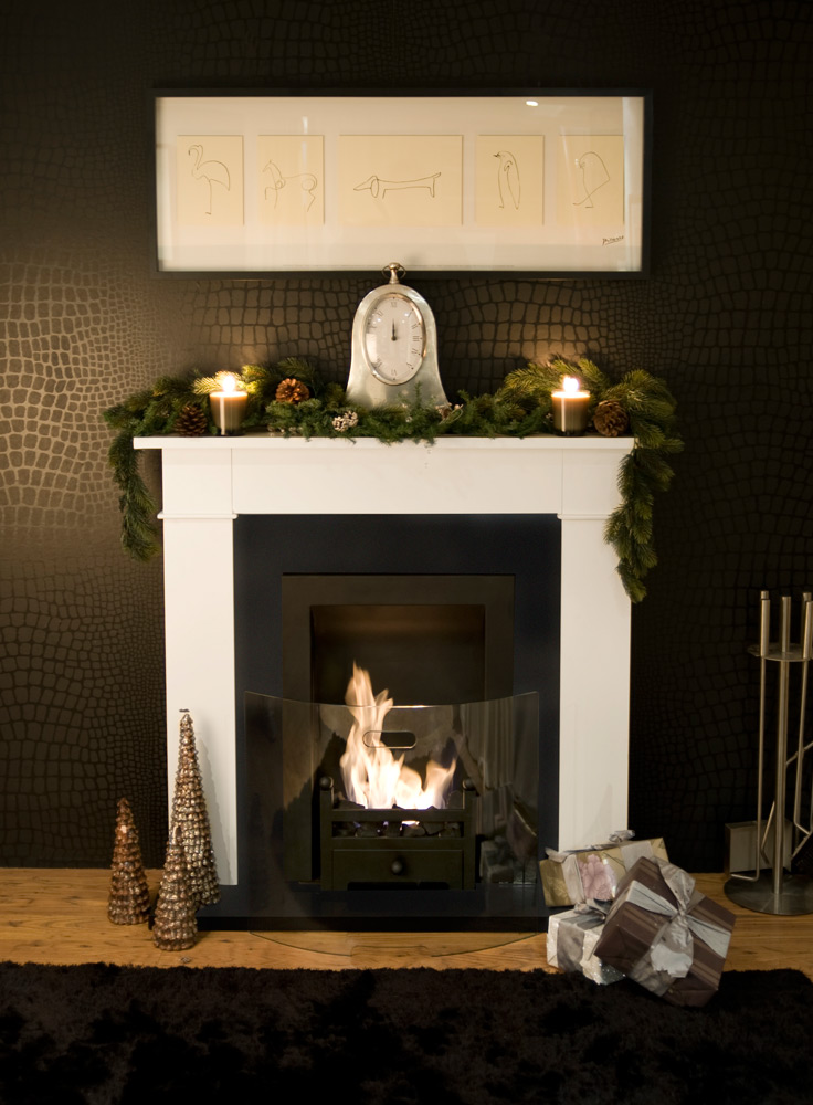Carrington Cream Traditional Bio Ethanol Fireplace is an electric fire  alternative - an elegant all-