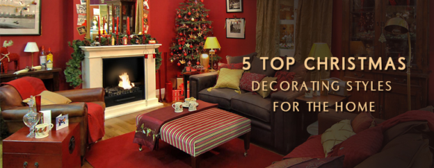 5 different christmas interior styles for the perfect xmas home - Different Christmas Decorating Styles