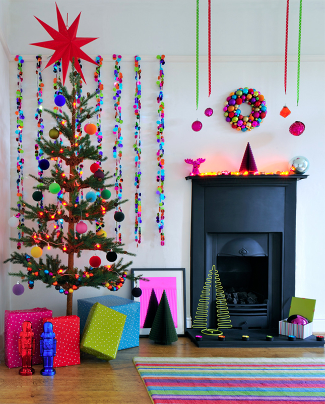 Quirky and cute Christmas decoration for a contemporary Xmas home.