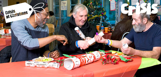 Volunteer at Crisis for Christmas to make a difference this Xmas.