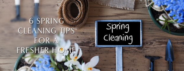 Tips and tricks for spring cleaning your home
