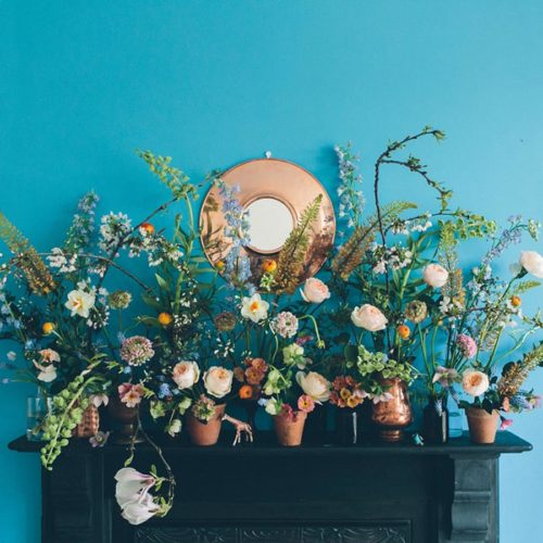 Spring mantel blog - pic 1