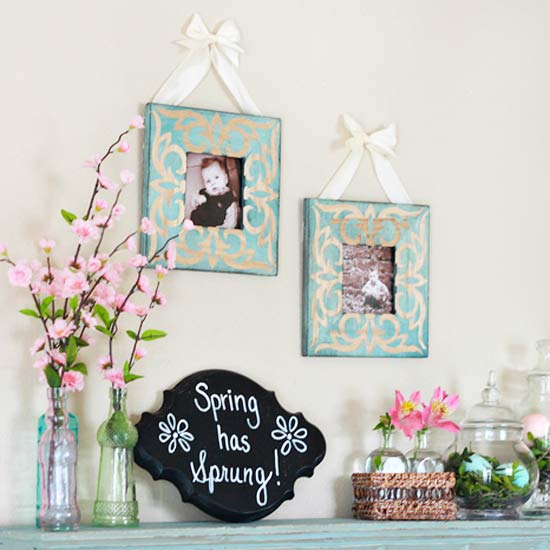 Spring mantel blog - pic 4
